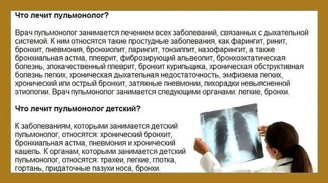 Врач пульмонолог