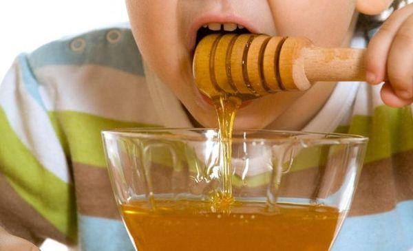 Мед и алоэ для детей