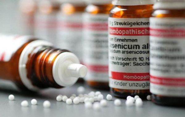 Баночки с гомеопатическими гранулами