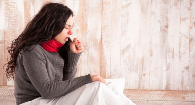Приступ горлового кашля