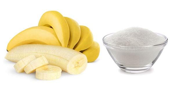 Бананы и сахар