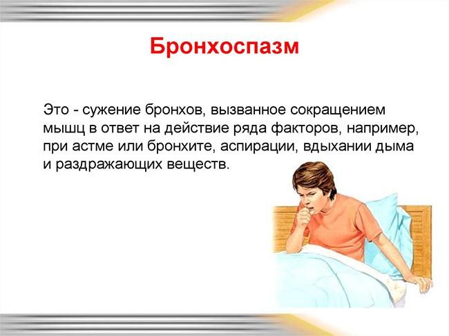 Определение бронхоспазма