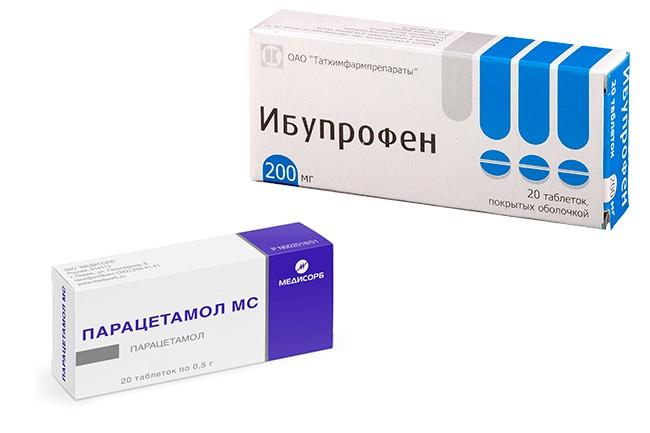 Ибупрофен и Парацетамол