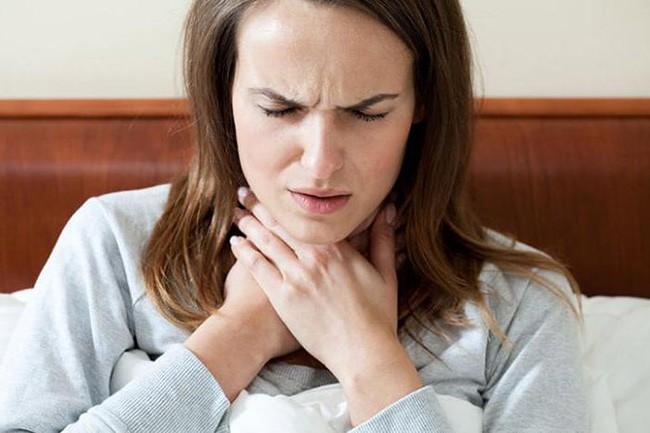 Боли в горле при ангине