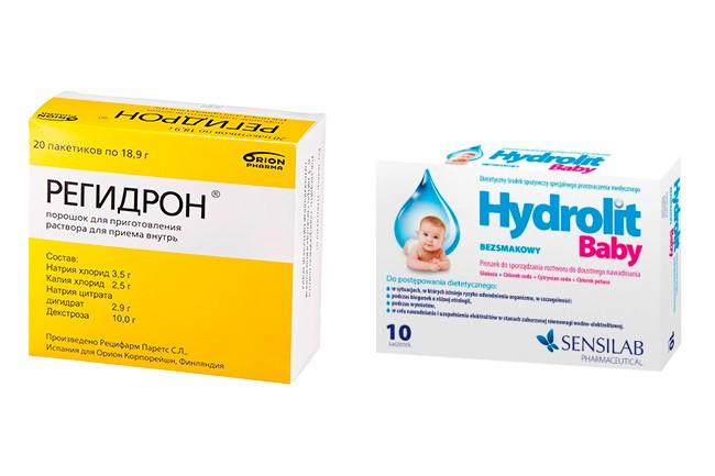 Лекарственные средства для восстановление водного баланса