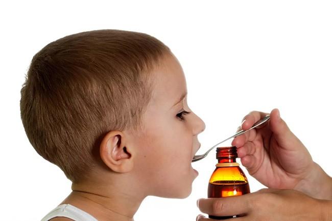 Сладкий сироп для детей