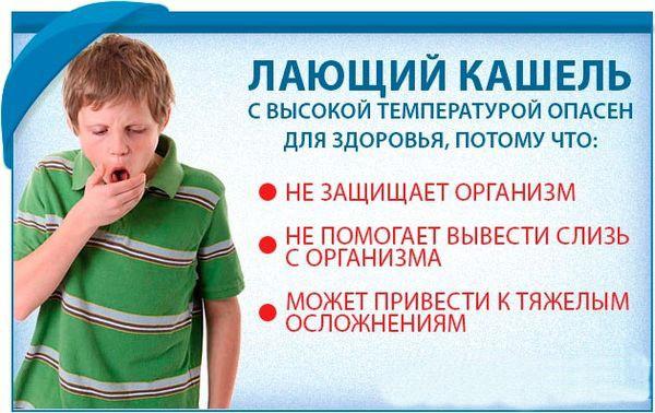 Лающий кашель у детей