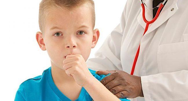 Свистящий кашель у ребенка