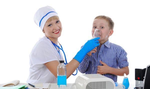 Ингаляции при сильном кашле у ребенка