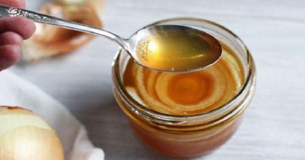 Сироп из лука и сахара от кашля