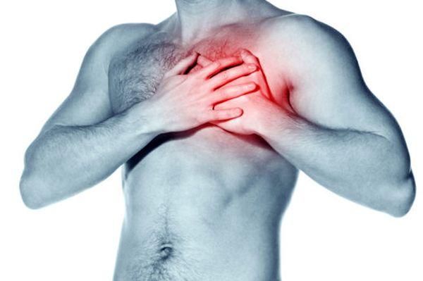 Сильная боль в области сердца у взрослого