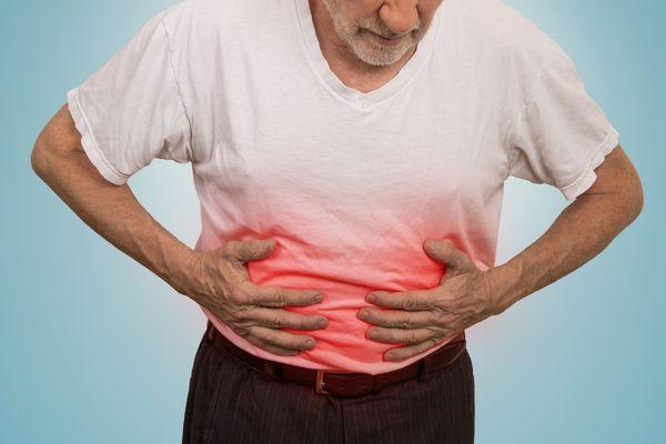 Локализация болей при язве желудка у взрослого человека