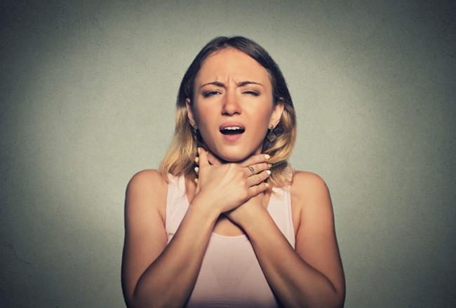 Удушающий кашель при анафилаксии