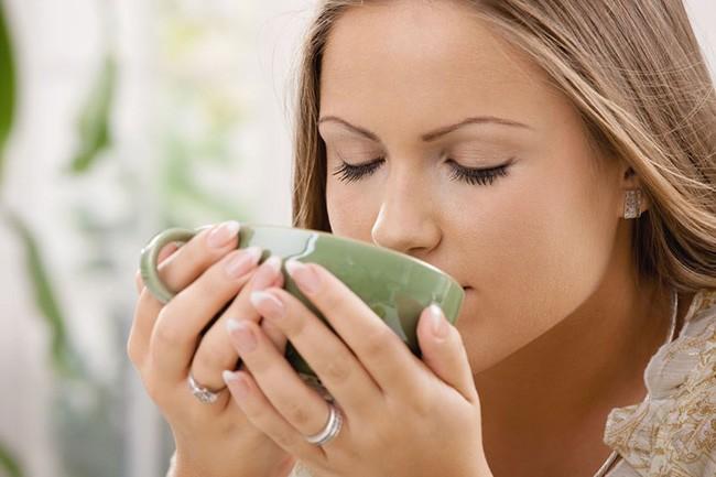 Теплое питье при кашле