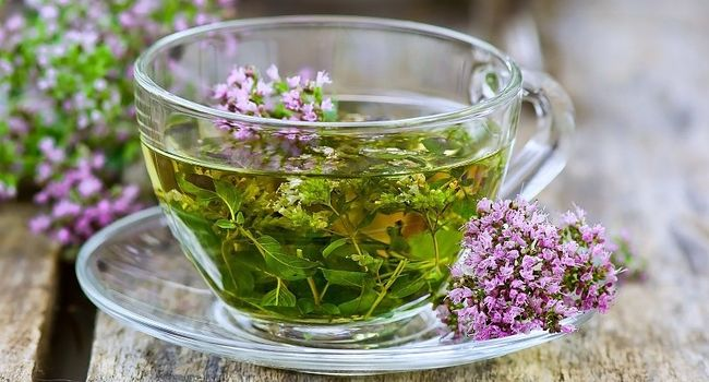 Чай из чабреца при сильном кашле