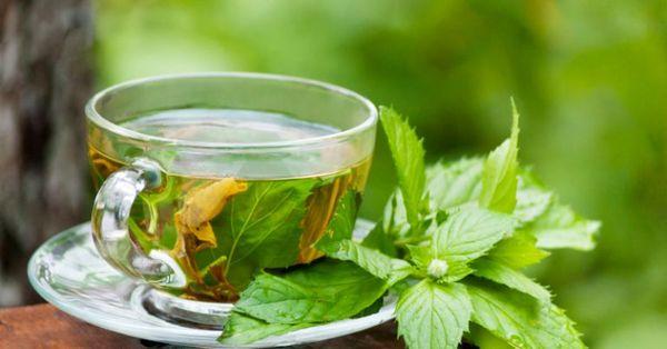 Ароматный мятный чай