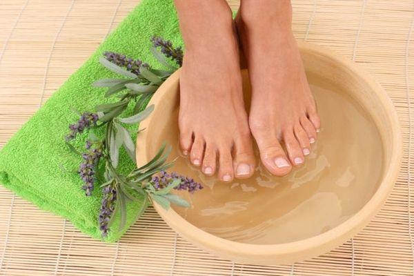 Ножные ванночки с солью при кашле
